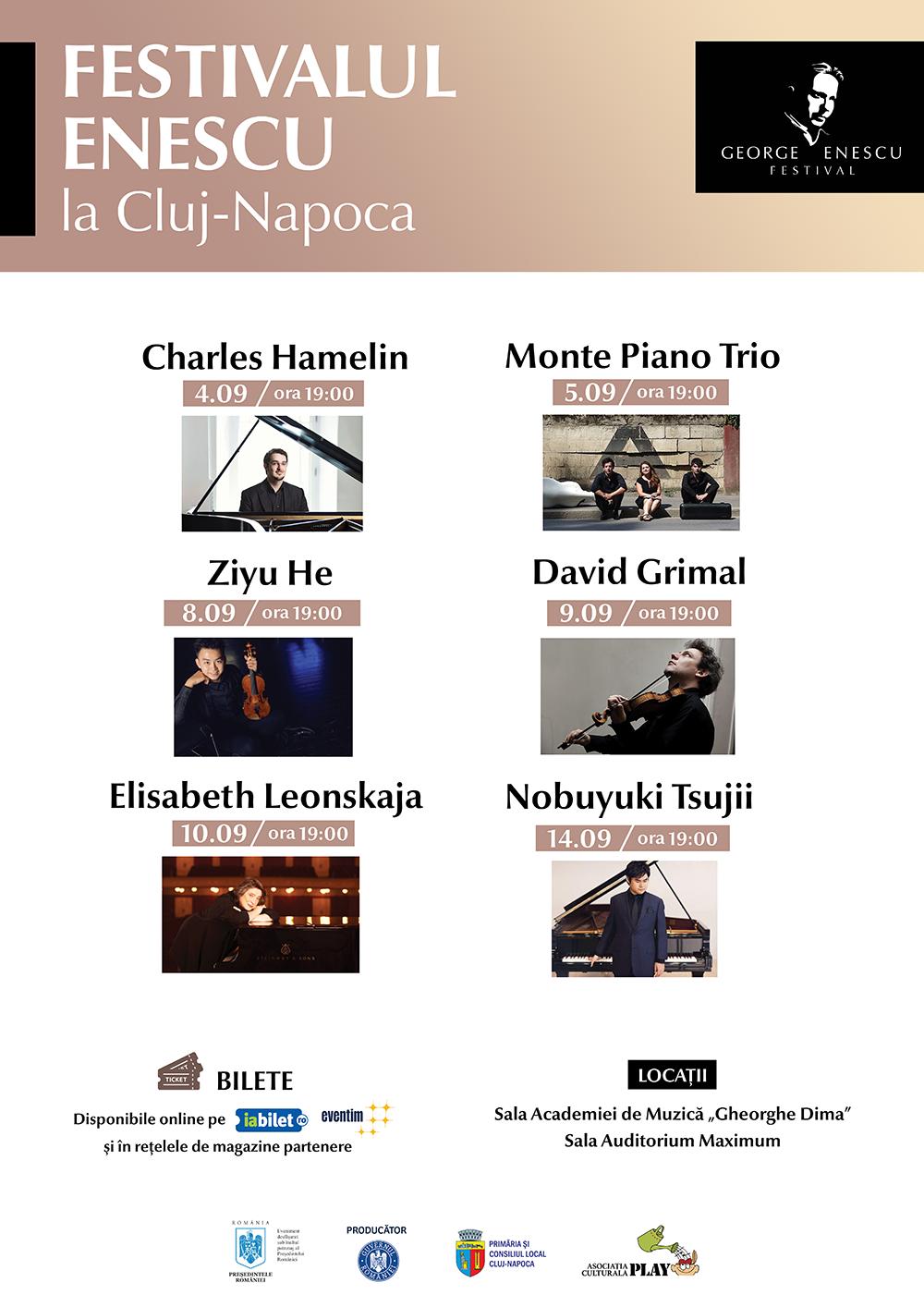 Festivalul Enescu la Cluj-Napoca