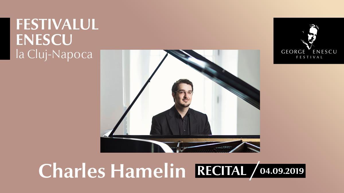 Recital Charles Hamelin – Festivalul Enescu la Cluj-Napoca