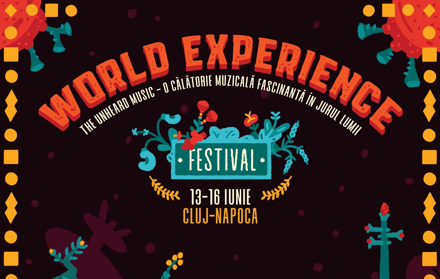 Muzica neștiută a lumii pe care o vei descoperi la World Experience Festival