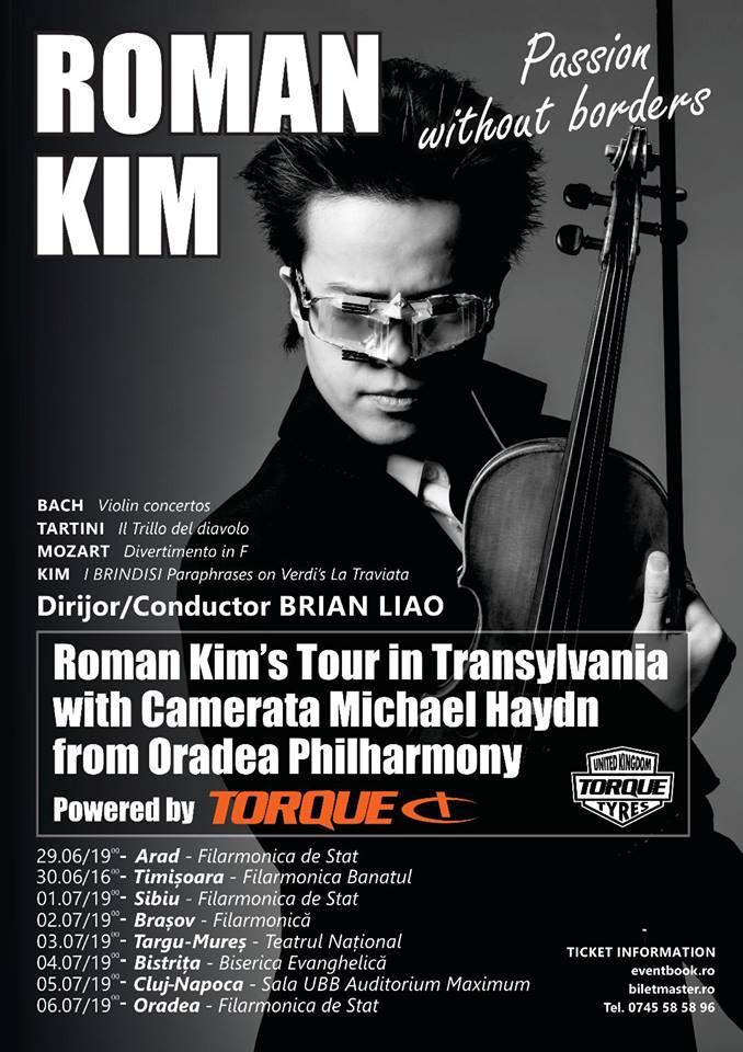 Concert Roman Kim in Orasul Tau.