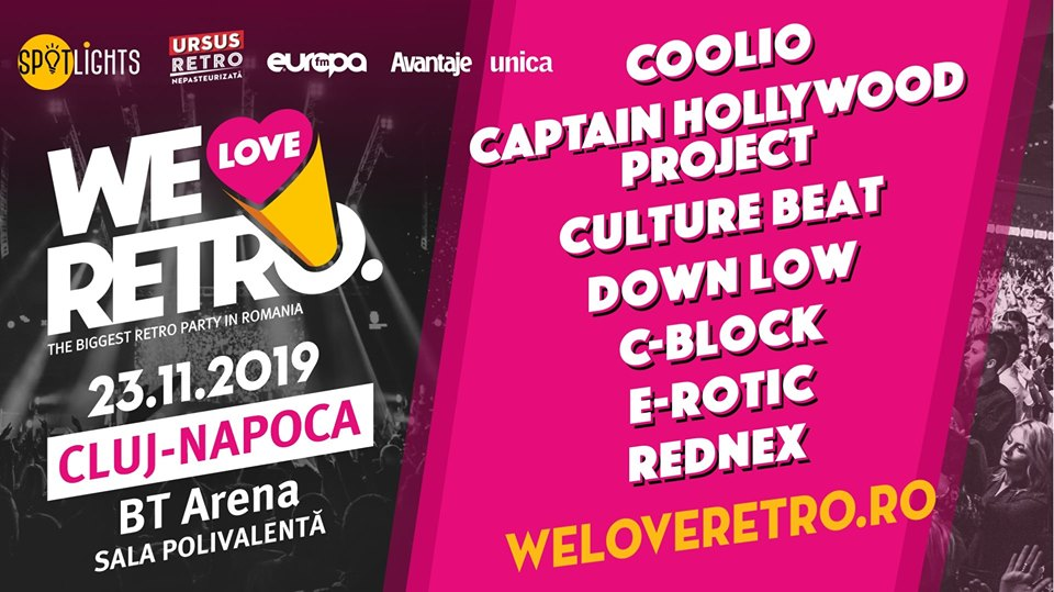 We Love Retro Cluj Napoca 2019