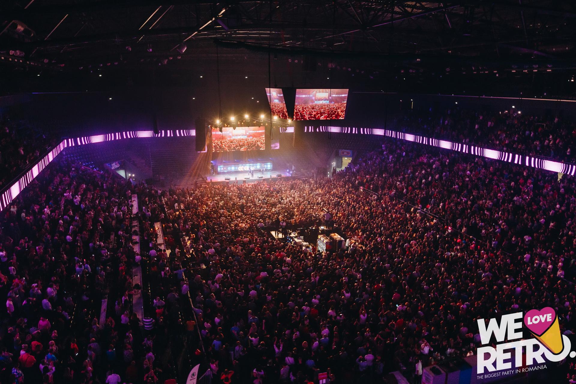 Ultimele 500 de bilete la preț redus la We Love Retro Cluj-Napoca