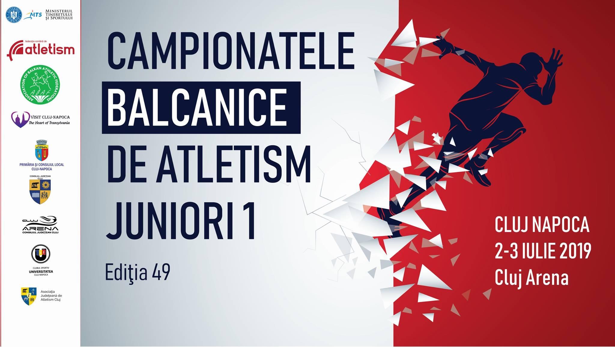 Campionatele Balcanice de Atletism pentru Juniori 1