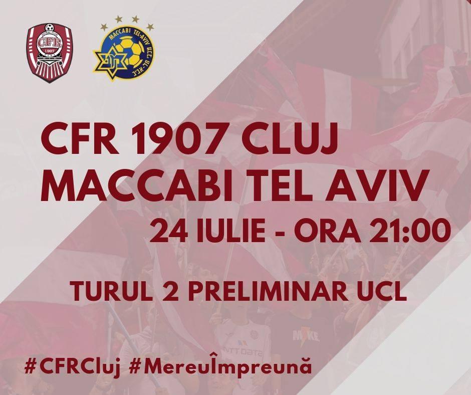 CFR Cluj – Maccabi Tel Aviv