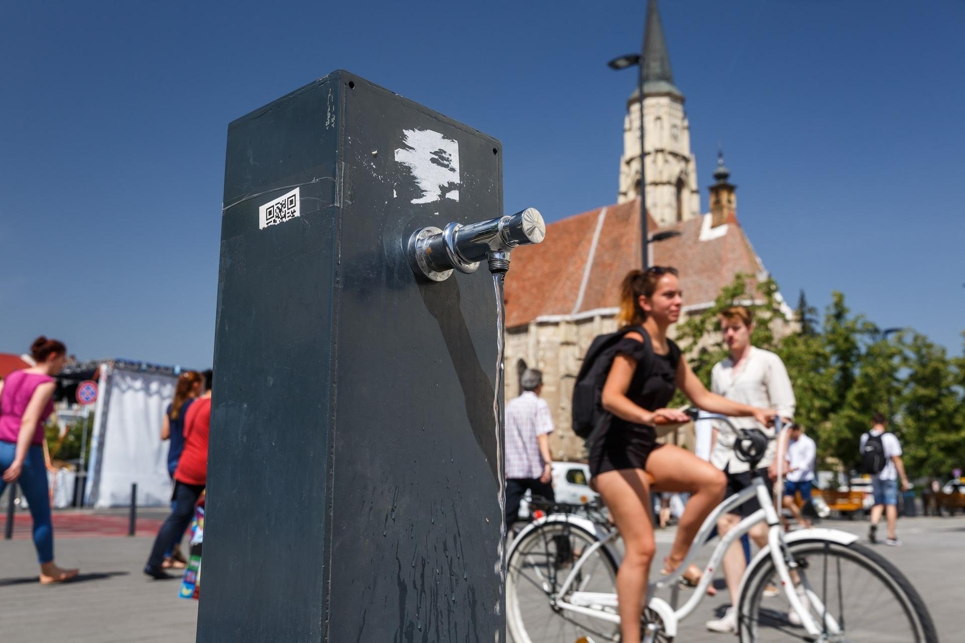 Măsuri pentru perioada de caniculă luate de Primăria Cluj-Napoca
