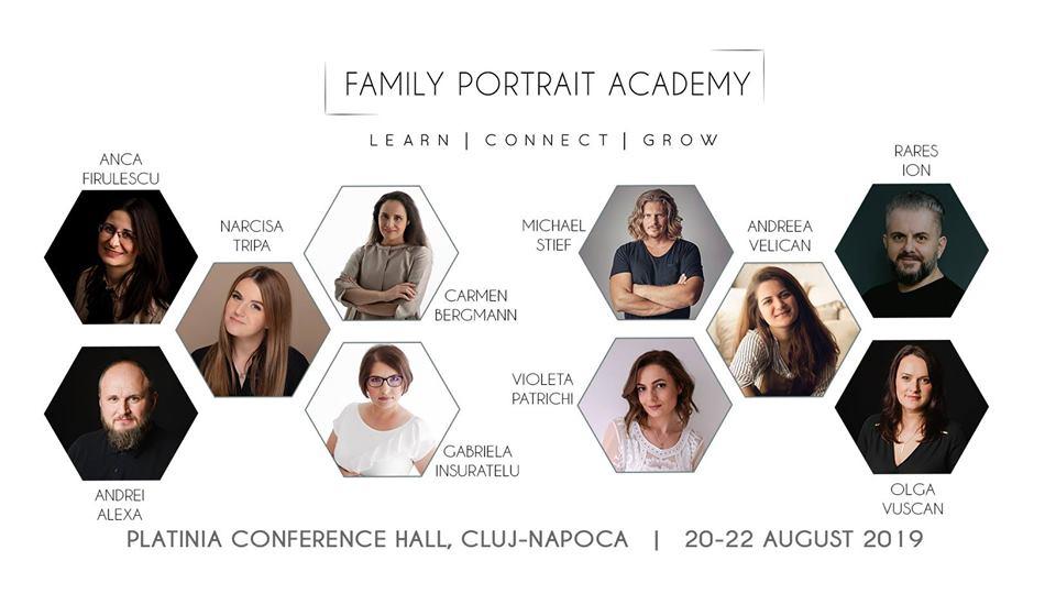 Family Portrait Academy – Cluj Napoca 2019