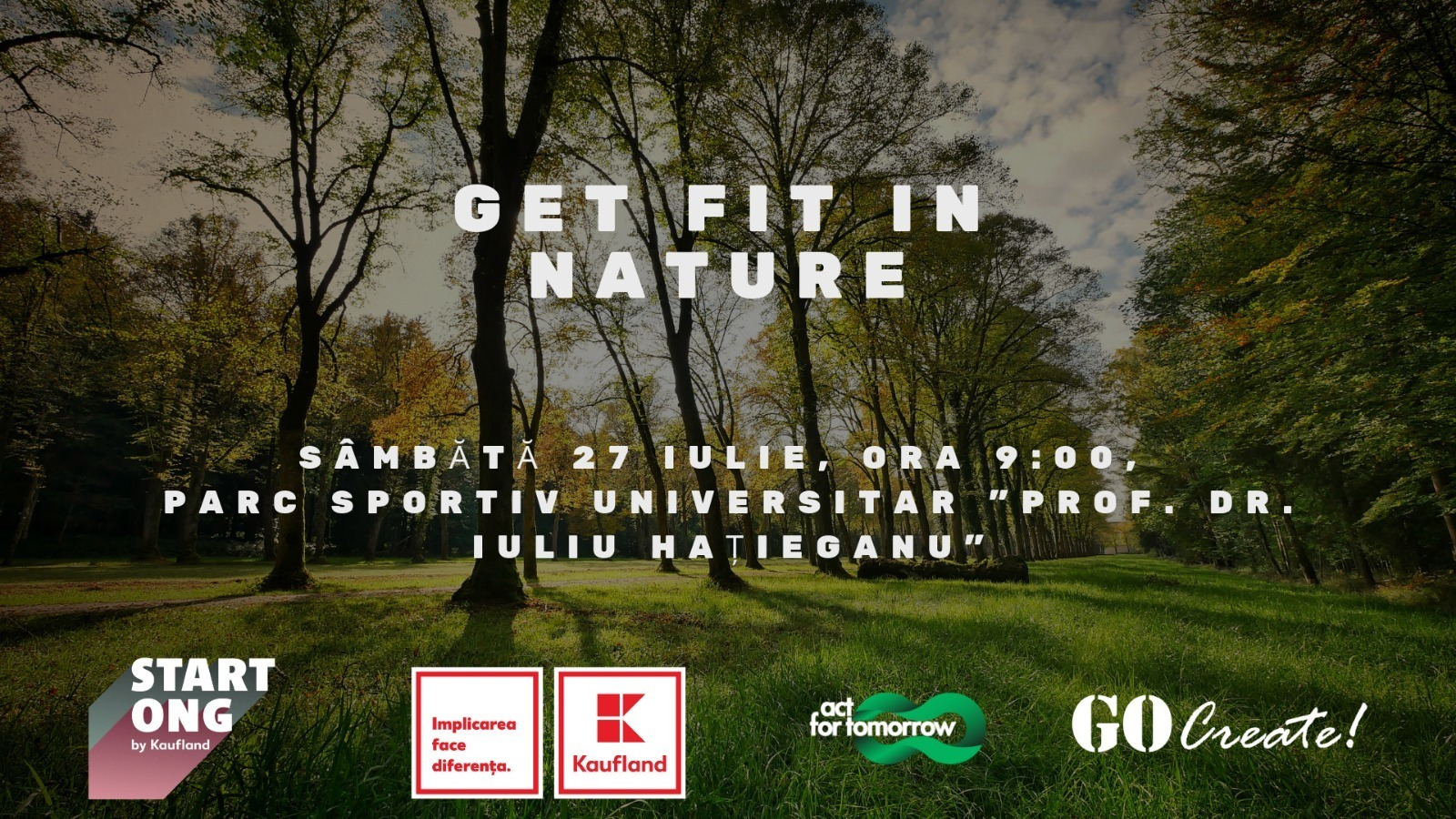 Get fit in nature!