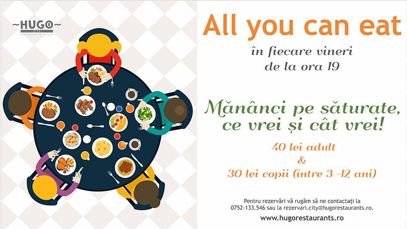 All you can eat @ Hugo City