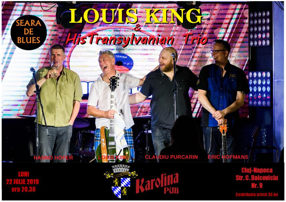 Louis King & His Transylvanian Trio