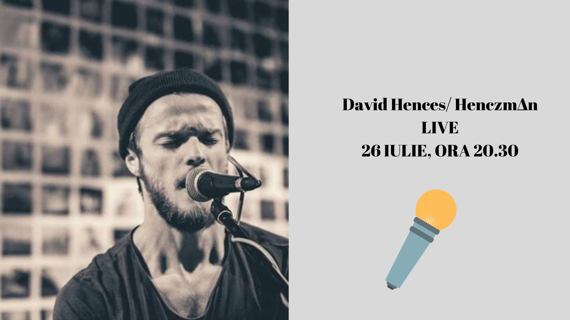 Muzică live: David Hences/ Henczm∆n