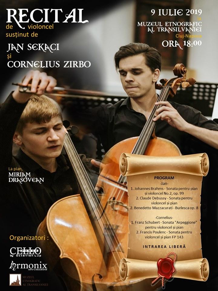 Recital de violoncel