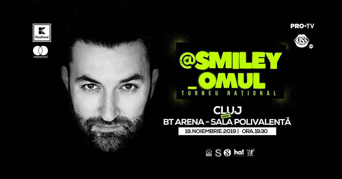 Concert @Smiley_Omul @ BT Arena