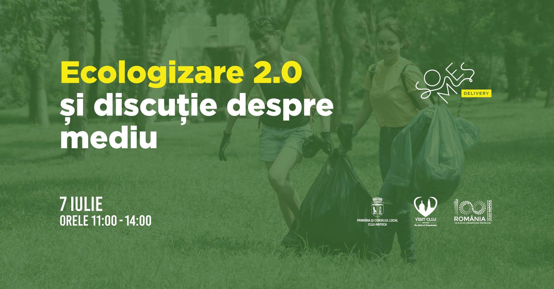 Ecologizare 2.0 și discuție despre mediu | Someș Delivery 2019