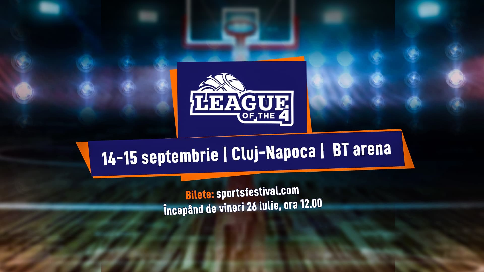 Fenerbahce Beko, Partizan NIS și Mornar Bar joacă în septembrie la Cluj