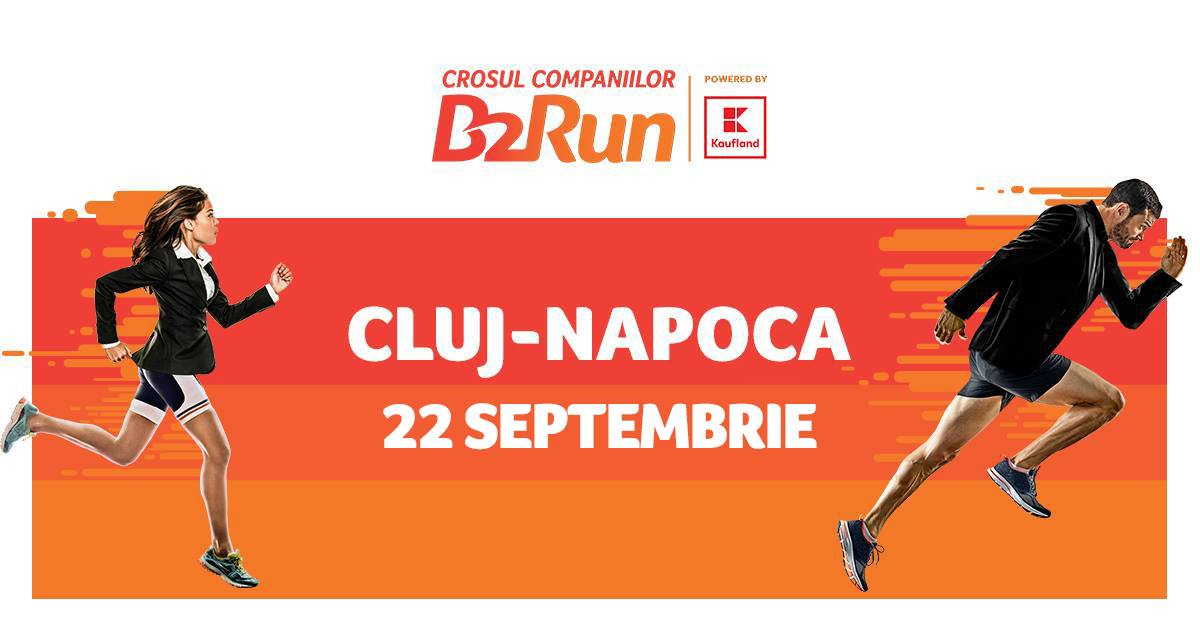 Crosul Companiilor B2Run Cluj-Napoca powered by Kaufland