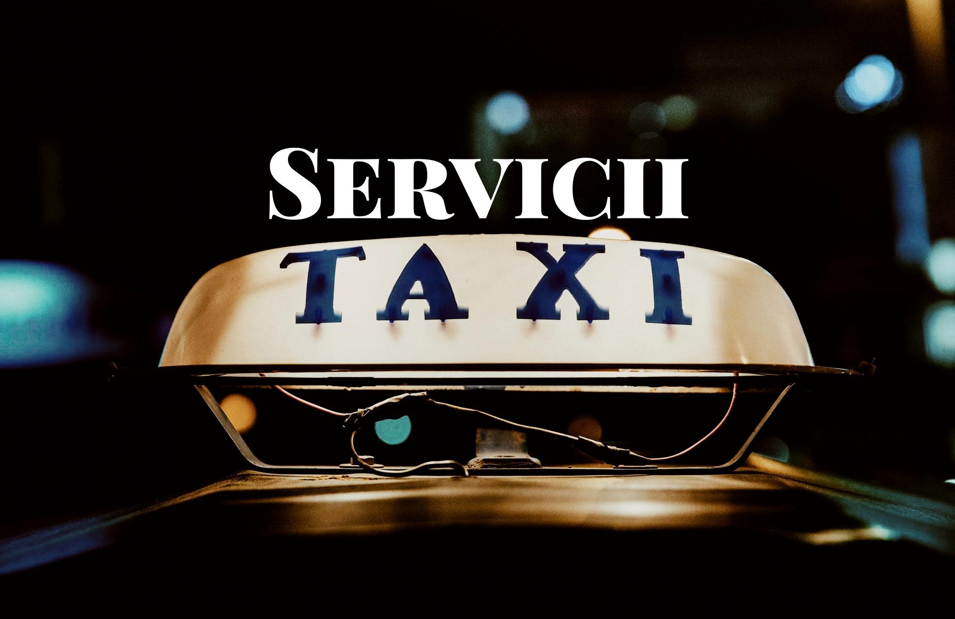 Servicii de taximetrie din Cluj