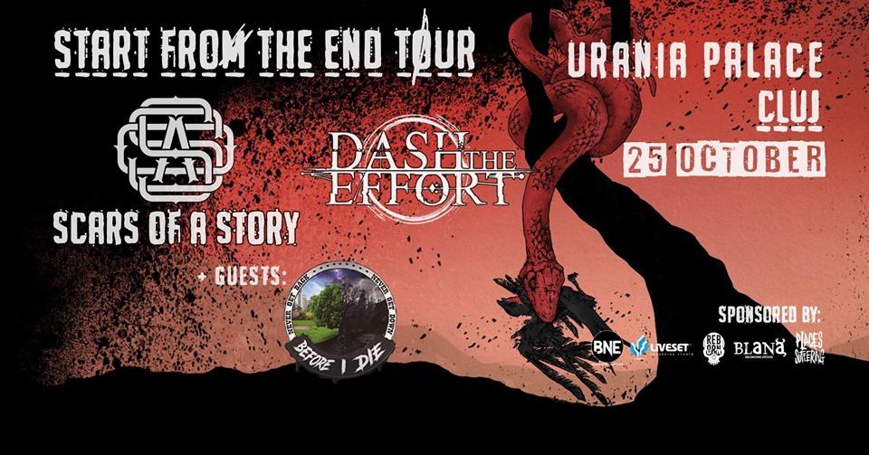Dash the Effort[BG] / Scars of a Story[RO] / Before I Die [RO]