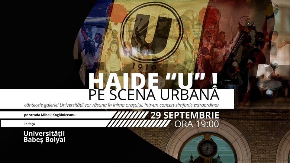 """Haide """"U"""" pe Scena Urbană"""