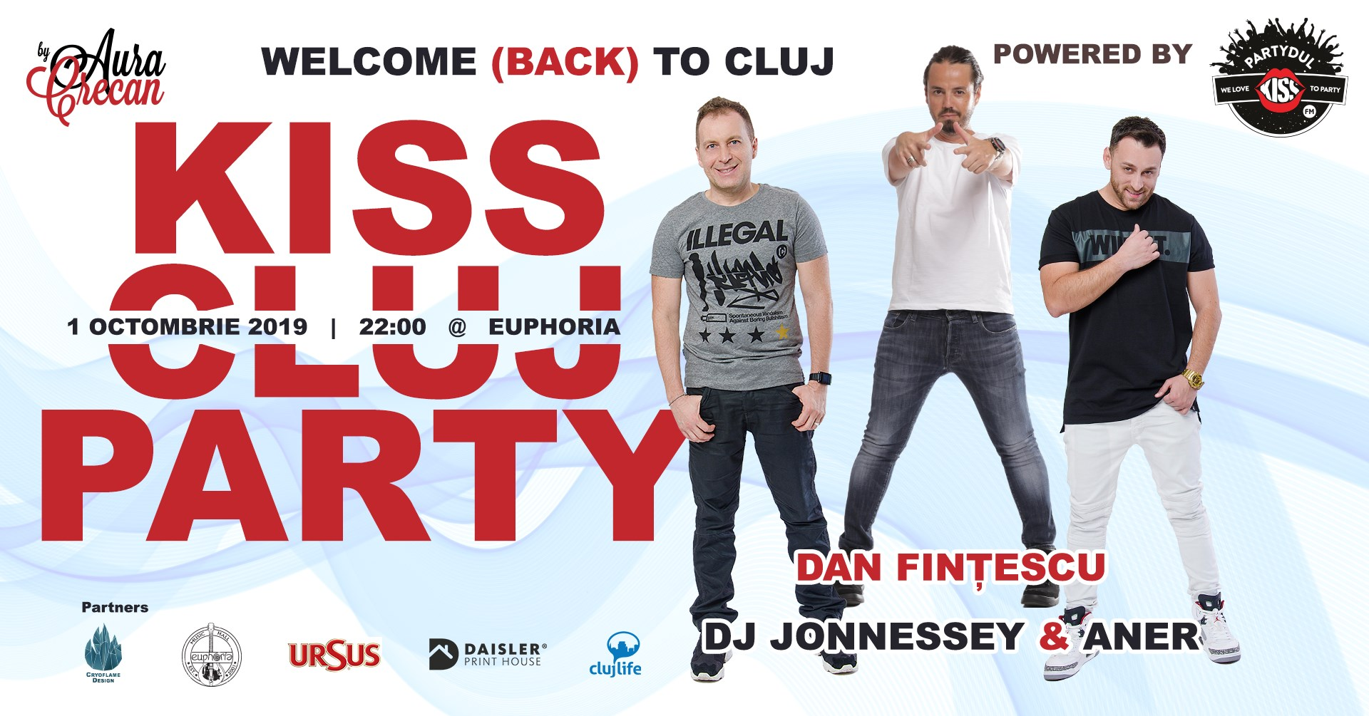 Kiss Cluj Party by Partydul KissFM