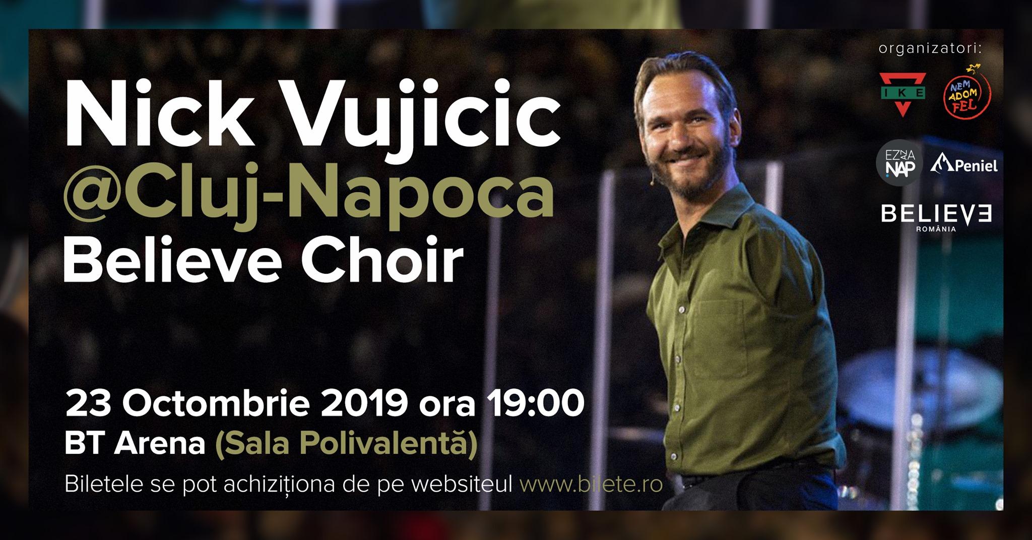 Nick Vujicic @ Cluj-Napoca