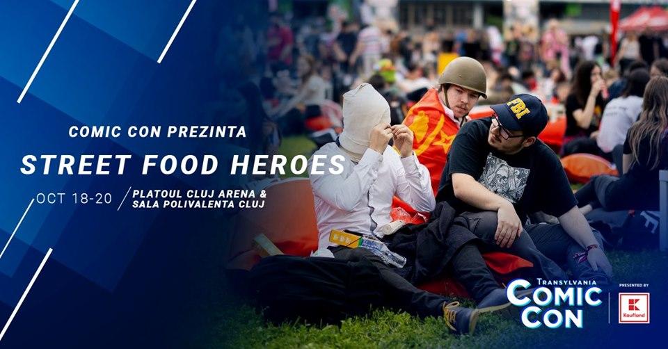 Street Food Heroes @ Transylvania Comic Con
