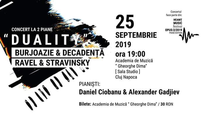 Concert la două piane