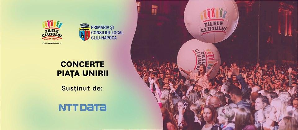 Concerte Piața Unirii – Zilele Clujului 2019