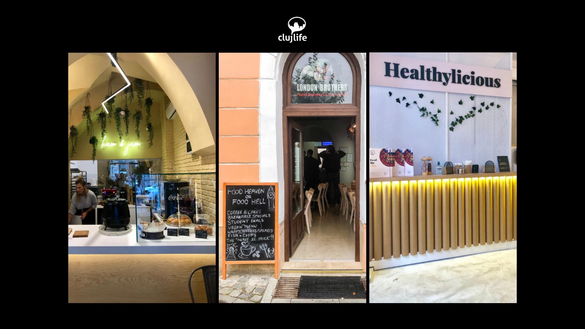 3 localuri recent deschise în Cluj: ham & jam, London Brothers și Healthylicious