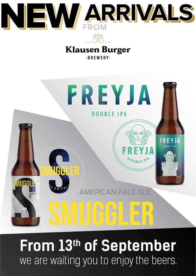 Lansare de bere: Smuggler si Freyja