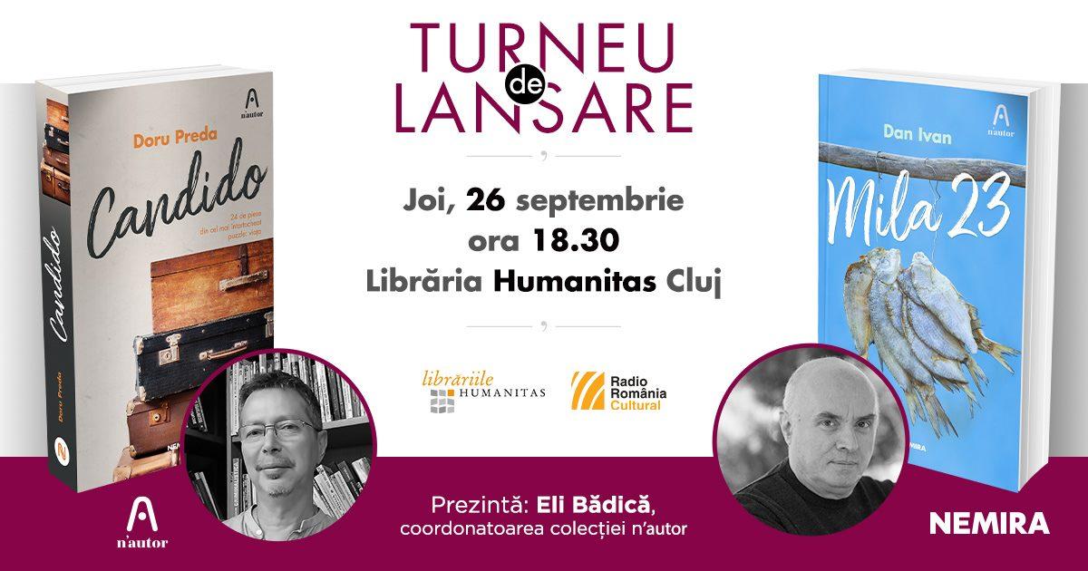 Turneu de lansare n'autor la Cluj – Candido & Mila 23