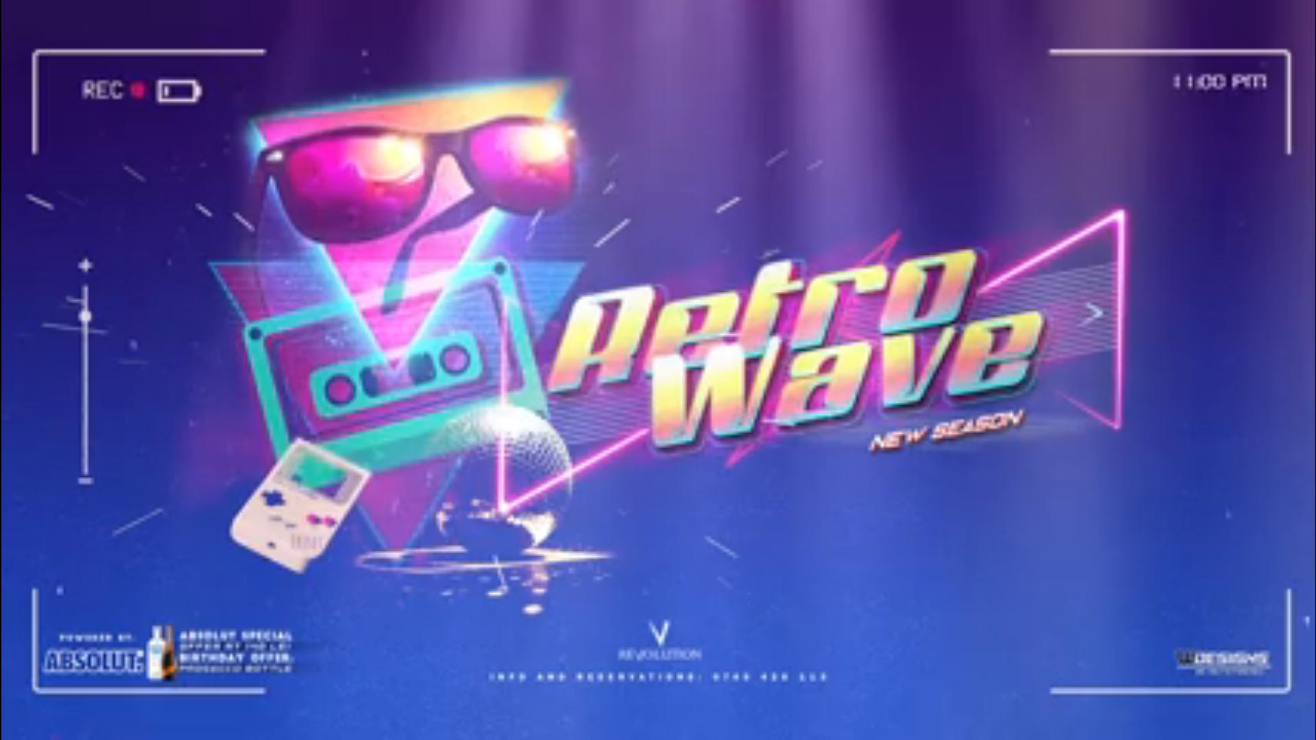 Retro Wave – Friday Night Kitsch Music