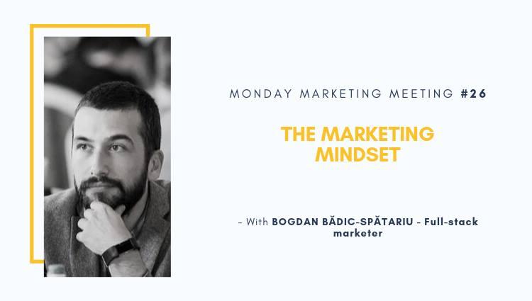 Monday Marketing Meeting – The Marketing Mindset