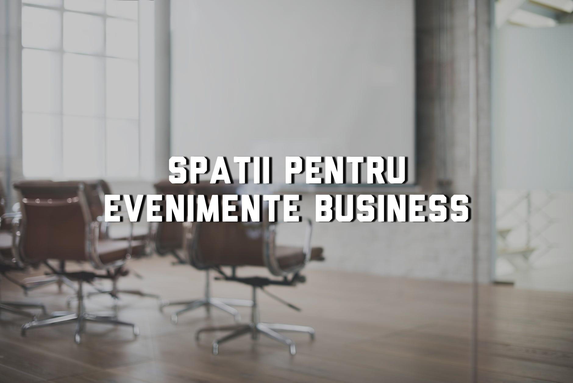 Spații din Cluj potrivite pentru evenimentul tău de business