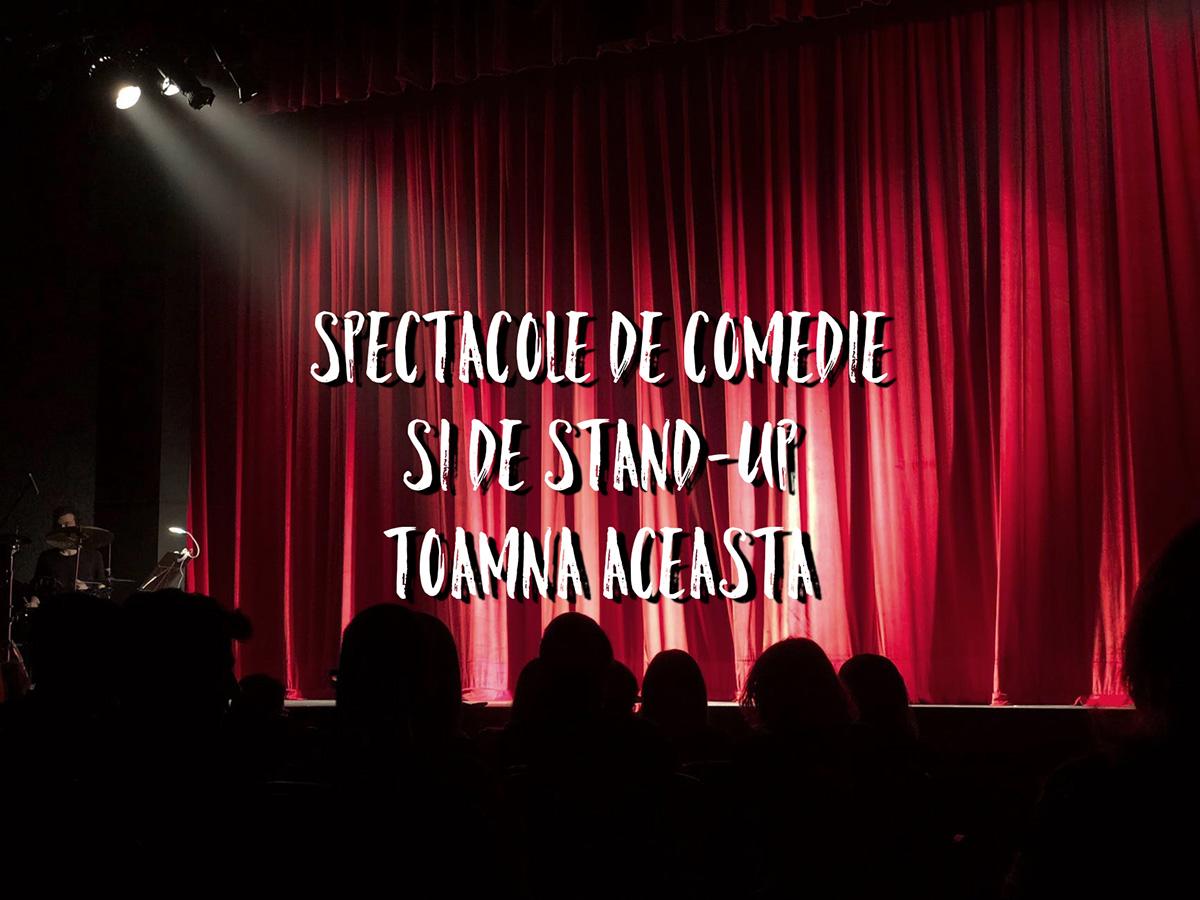 9 spectacole de stand-up comedy și de tip comedie în această toamnă la Cluj