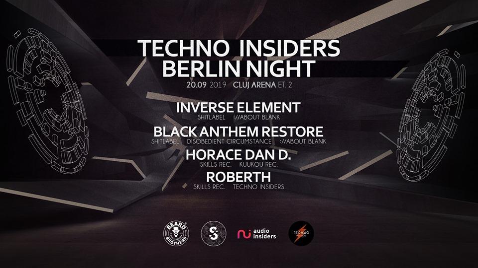 Techno Insiders Berlin Night