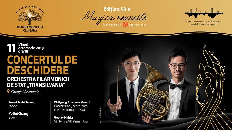 Gala de deschidere a Toamnei Muzicale Clujene 2019