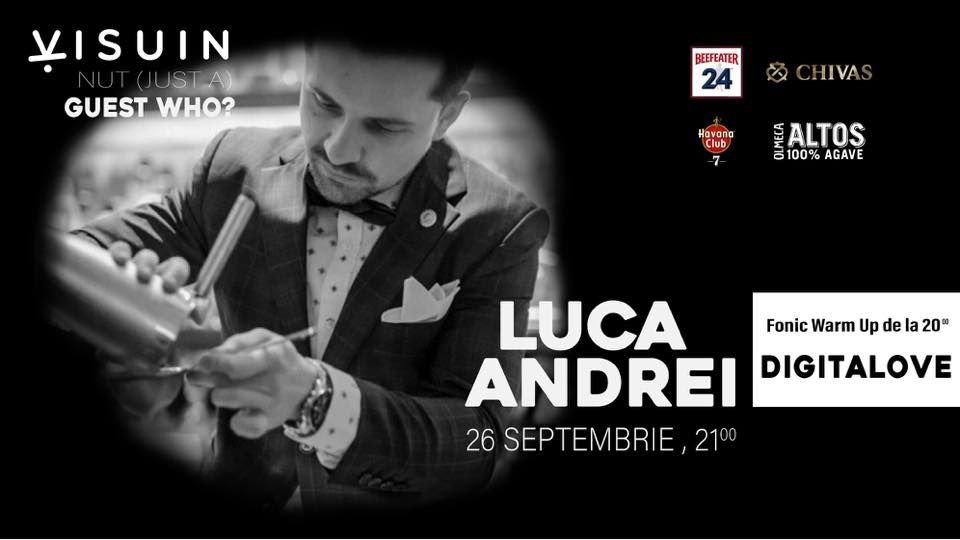 Guest Who? Andrei Luca la Visuin. Fonic Warm Up w/ DigitaLove