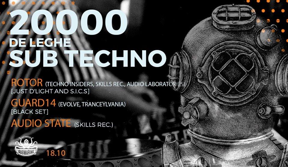 Audio Laboratories presents: 20.000 de leghe SUB Techno