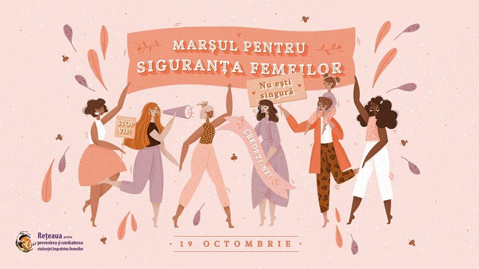 """CLUJ Marșul """"Împreună pentru siguranța femeilor!"""""""