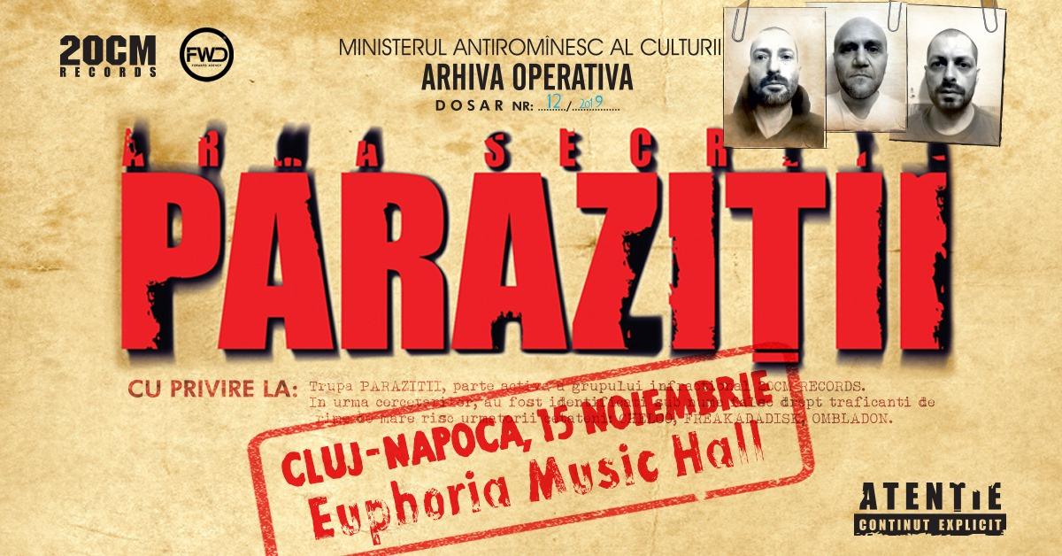 Concert Parazitii @ Euphoria Music Hall
