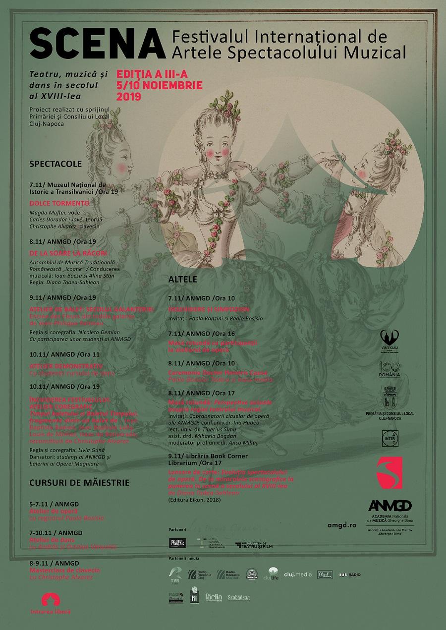 Festivalul Internațional de Artele Spectacolului Muzical SCENA,