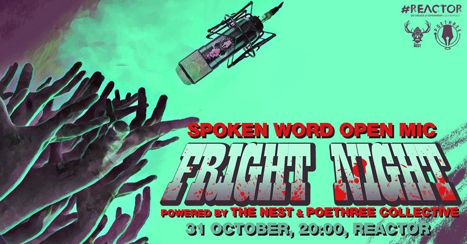 Fright Night – Spoken Word – Open Mic