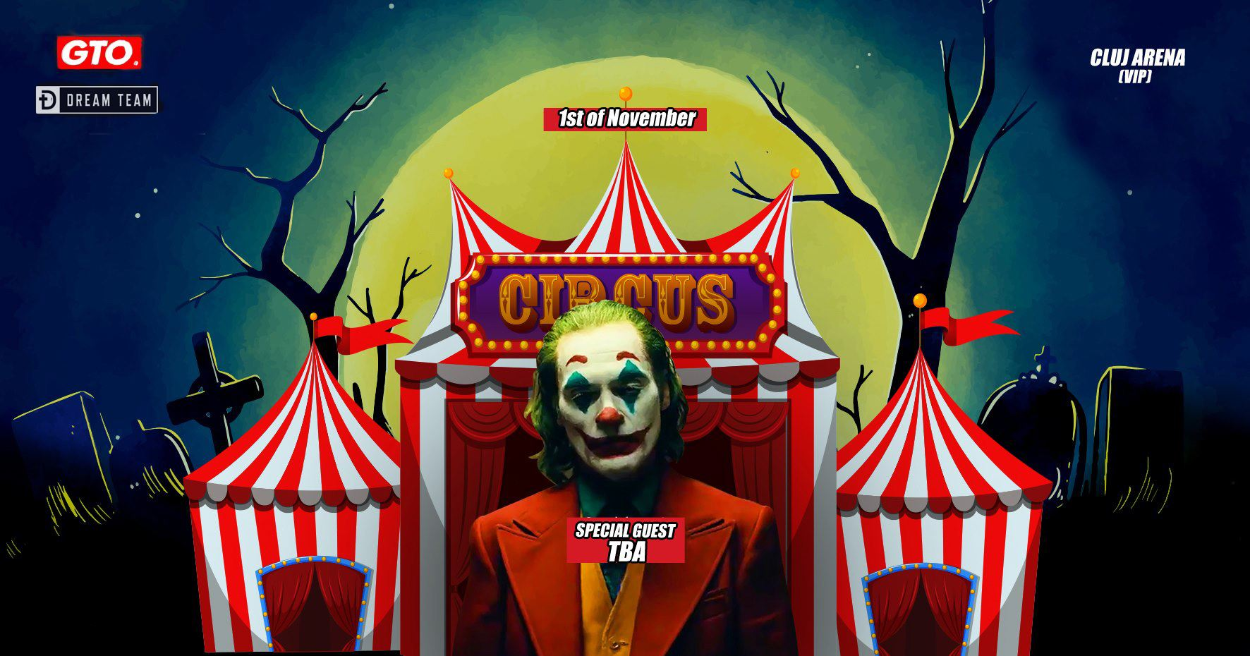 Halloween Circus ~ The JOKER