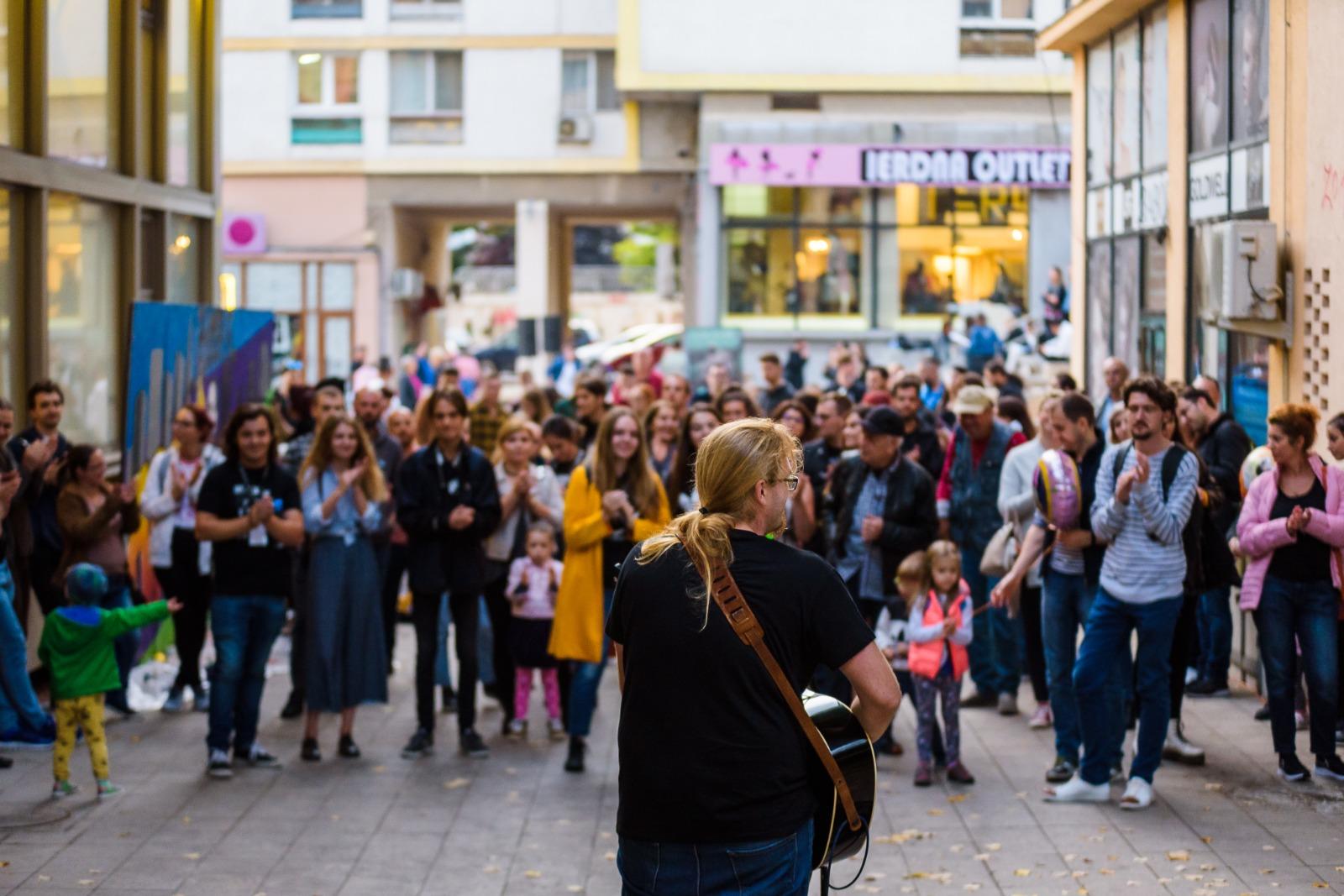 Art in the Street 2019 a scos Iașul și Clujul în stradă