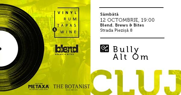 Vinyl, Rum, Tapas & Wine