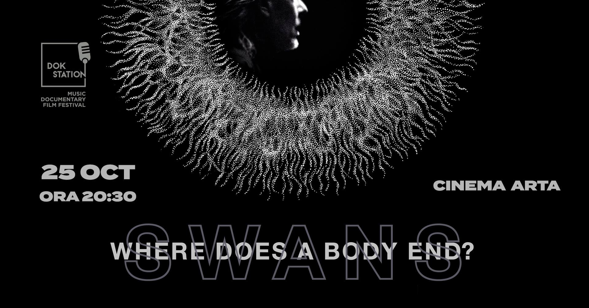 DokStation: proiecție Swans: Where Does A Body End?