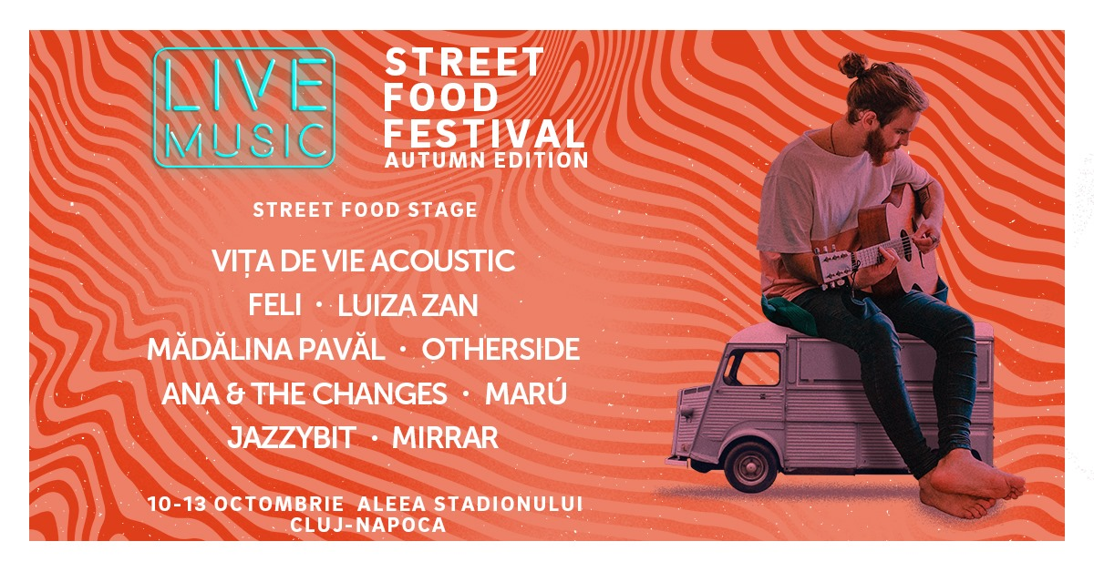 LIVE MUSIC at Street FOOD Festival