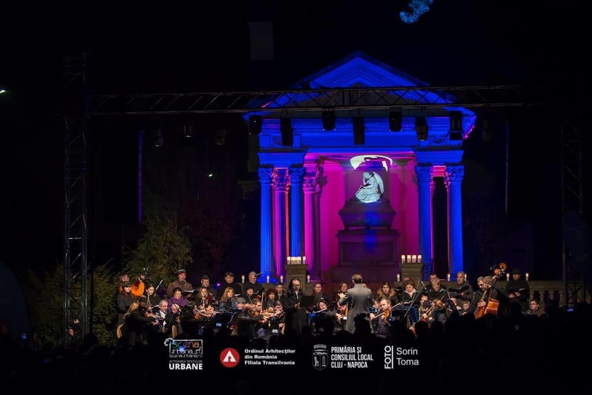 Requiem aeternam, un spectacol de comemorare a sufletelor celor dragi,  adus, de Scena Urbană, în cimitir, de Luminație