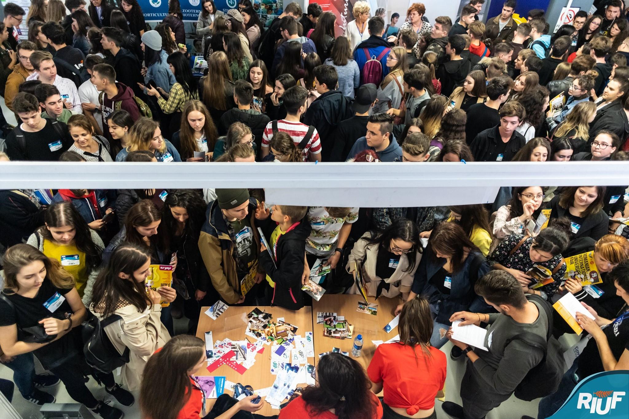 Cum a fost la… târgul de universități RIUF 2019