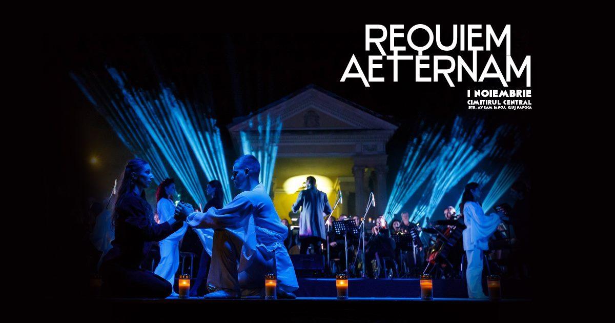 Requiem Aeternam – spectacol în Cimitirul Central Cluj-Napoca